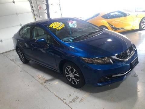 2014 Honda Civic for sale at Jose's Auto Sales Inc in Gurnee IL