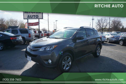 2015 Toyota RAV4 for sale at Ritchie Auto in Appleton WI