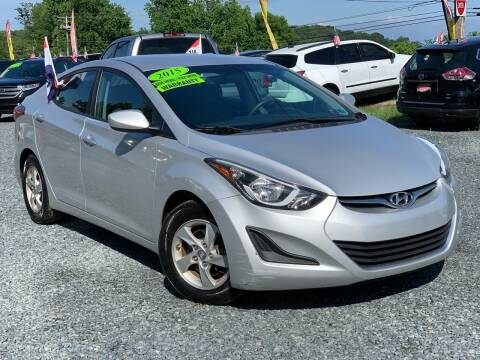 2015 Hyundai Elantra for sale at A&M Auto Sales in Edgewood MD