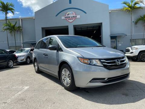 2016 Honda Odyssey for sale at Ven-Usa Autosales Inc in Miami FL