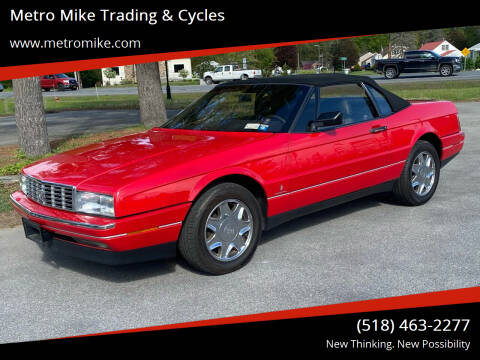 1989 Cadillac Allante for sale at Metro Mike Trading & Cycles in Albany NY