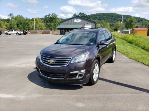 2016 Chevrolet Traverse for sale at Greens Auto Mart Inc. in Wysox PA