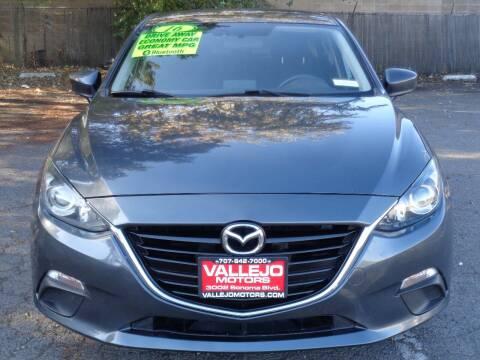 2016 Mazda MAZDA3 for sale at Vallejo Motors in Vallejo CA