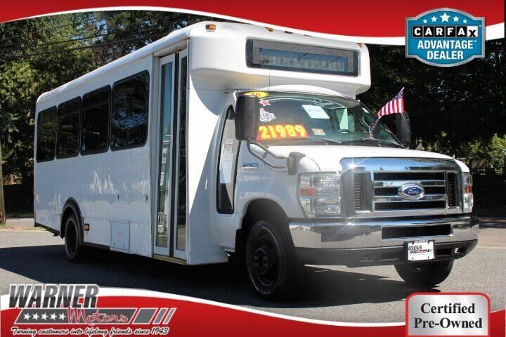 2016 Ford E-450 25 Passenger Mini Bus for sale at Warner Motors in East Orange NJ