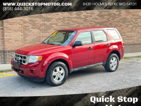 2012 Ford Escape for sale at Quick Stop Motors in Kansas City MO