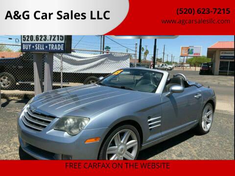 2005 Chrysler Crossfire for sale at A&G Car Sales  LLC in Tucson AZ