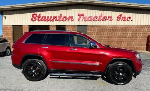 2011 Jeep Grand Cherokee for sale at STAUNTON TRACTOR INC in Staunton VA
