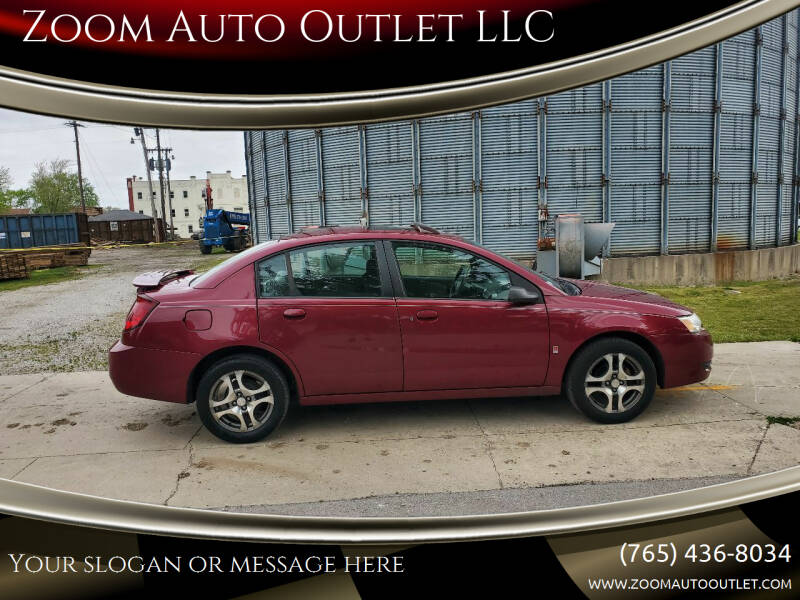 2005 Saturn Ion for sale at Zoom Auto Outlet LLC in Thorntown IN