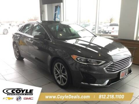 2019 Ford Fusion for sale at COYLE GM - COYLE NISSAN - Coyle Nissan in Clarksville IN