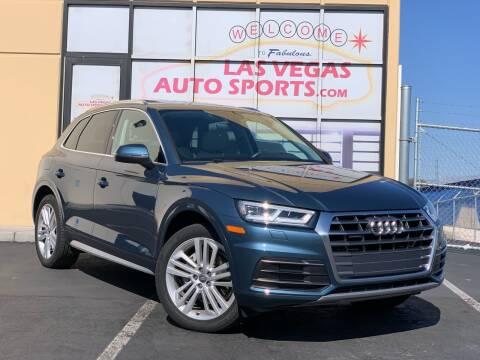 2018 Audi Q5 for sale at Las Vegas Auto Sports in Las Vegas NV