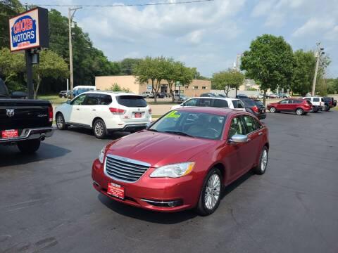 2012 Chrysler 200 for sale at Crocker Motors in Beloit WI