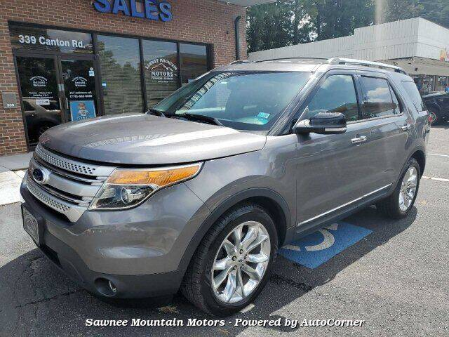 2014 Ford Explorer for sale at Michael D Stout in Cumming GA