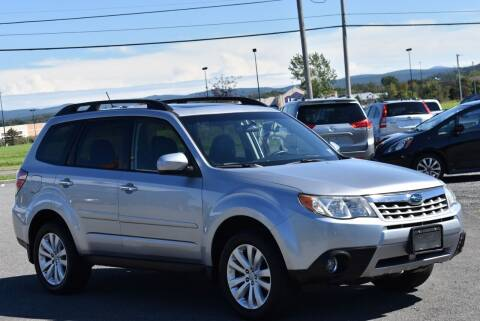2013 Subaru Forester for sale at Broadway Garage of Columbia County Inc. in Hudson NY