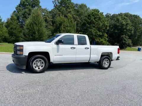 2014 Chevrolet Silverado 1500 for sale at GTO United Auto Sales LLC in Lawrenceville GA