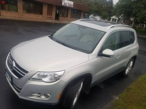 2010 Volkswagen Tiguan for sale at Capital Fleet  & Remarketing  Auto Finance in Columbia Heights MN