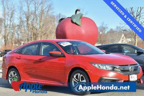 2016 Honda Civic for sale at APPLE HONDA in Riverhead NY