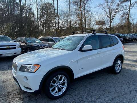2013 BMW X3 for sale at Car Online in Roswell GA