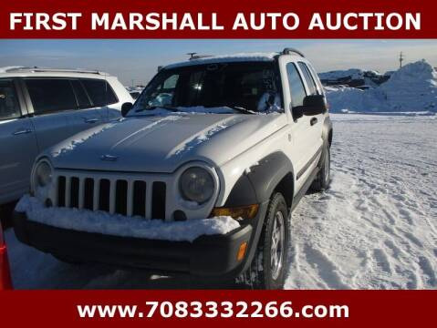 2007 Jeep Liberty for sale at First Marshall Auto Auction in Harvey IL