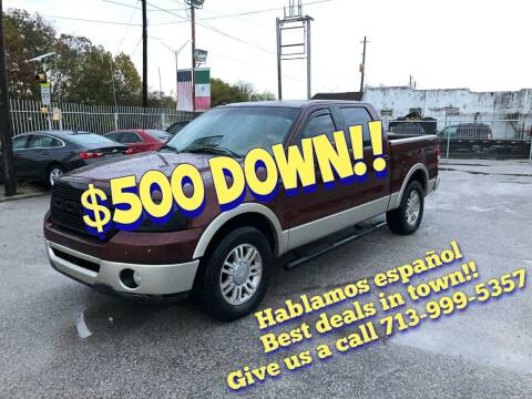 2007 Ford F-150 for sale at Saipan Auto Sales in Houston TX