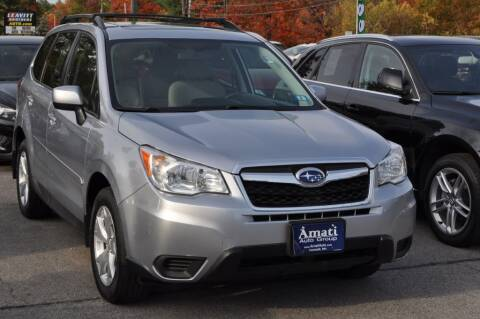 2015 Subaru Forester for sale at Amati Auto Group in Hooksett NH
