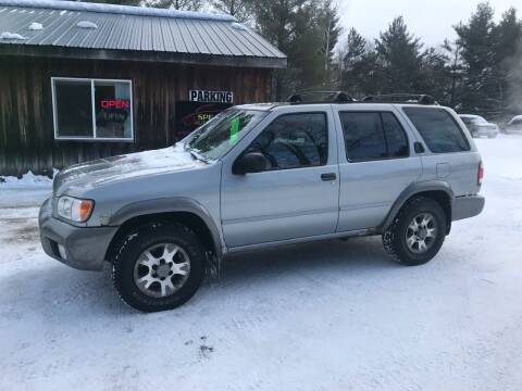 2001 Nissan Pathfinder for sale at Spear Auto Sales in Wadena MN