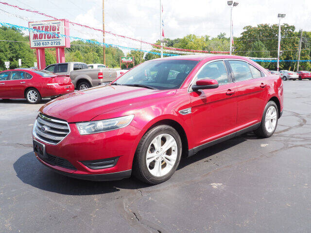 2015 Ford Taurus for sale at Patriot Motors in Cortland OH