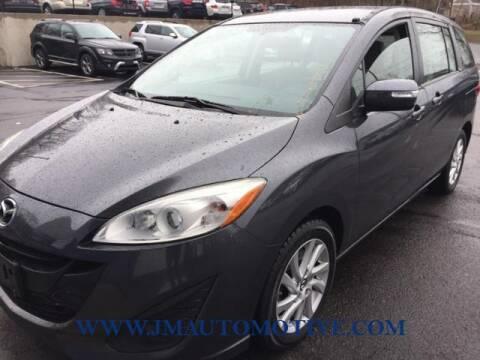2015 Mazda MAZDA5 for sale at J & M Automotive in Naugatuck CT