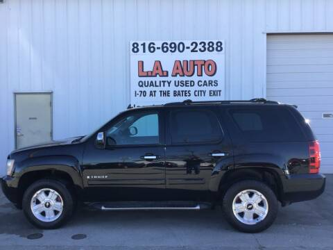2007 Chevrolet Tahoe for sale at LA AUTO in Bates City MO