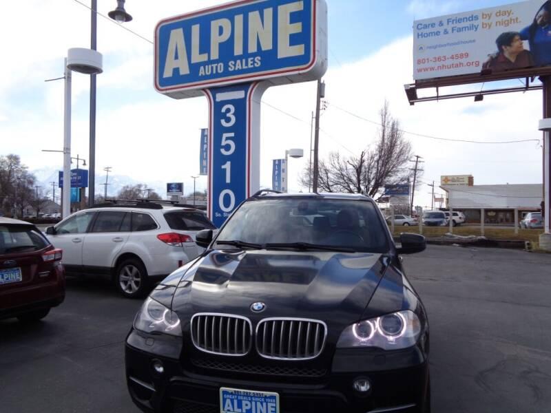 2012 BMW X5 for sale at Alpine Auto Sales in Salt Lake City UT