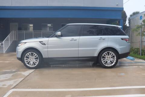 2014 Land Rover Range Rover Sport for sale at PERFORMANCE AUTO WHOLESALERS in Miami FL