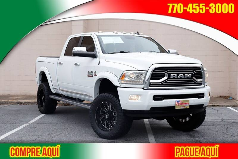 2016 RAM Ram Pickup 2500 for sale at El Compadre Trucks in Doraville GA