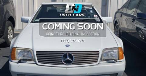 1993 Mercedes-Benz 500-Class for sale at D & D Used Cars in New Port Richey FL