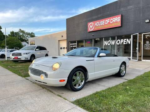 2002 Ford Thunderbird for sale at HOUSE OF CARS CT in Meriden CT