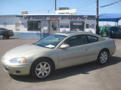 2001 Chrysler Sebring for sale at Town and Country Motors - 1702 East Van Buren Street in Phoenix AZ