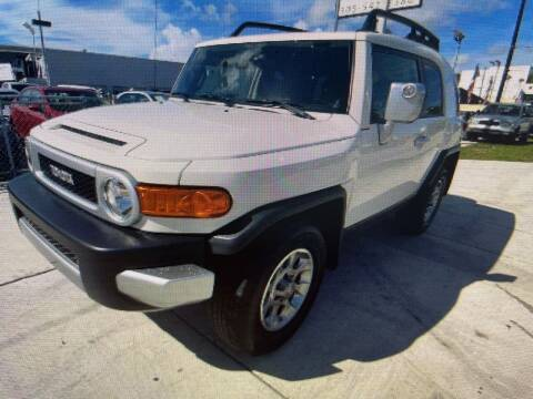 2009 Toyota FJ Cruiser for sale at D & P OF MIAMI CORP in Miami FL