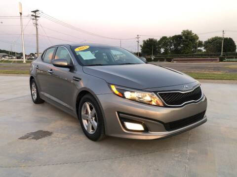 2015 Kia Optima for sale at King of Cars LLC in Bowling Green KY