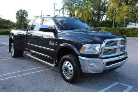 2013 RAM Ram Pickup 3500 for sale at Truck and Van Outlet - All Inventory in Hollywood FL