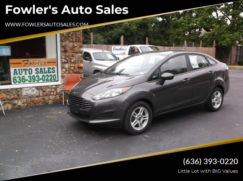 2017 Ford Fiesta for sale at Fowler's Auto Sales in Pacific MO