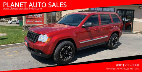 2010 Jeep Grand Cherokee for sale at PLANET AUTO SALES in Lindon UT