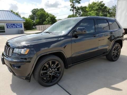 2017 Jeep Grand Cherokee for sale at Kell Auto Sales, Inc - Grace Street in Wichita Falls TX