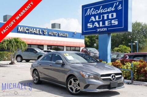 2018 Mercedes-Benz CLA for sale at Michael's Auto Sales Corp in Hollywood FL