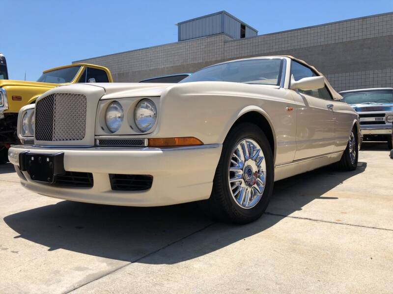 2000 Bentley Azure for sale at HIGH-LINE MOTOR SPORTS in Brea CA