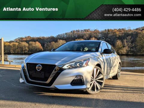 2020 Nissan Altima for sale at Atlanta Auto Ventures in Roswell GA
