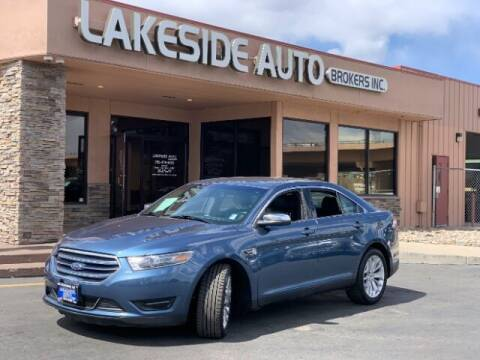 2018 Ford Taurus for sale at Lakeside Auto Brokers Inc. in Colorado Springs CO