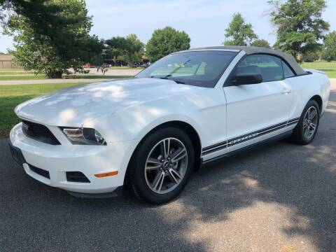 2010 Ford Mustang for sale at COUNTRYSIDE AUTO SALES 2 in Russellville KY