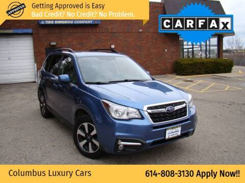 2017 Subaru Forester for sale at Columbus Luxury Cars in Columbus OH