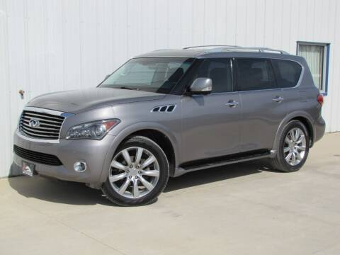 2012 Infiniti QX56 for sale at Lyman Auto in Griswold IA