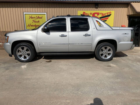 2011 Chevrolet Avalanche for sale at BIG 'S' AUTO & TRACTOR SALES in Blanchard OK
