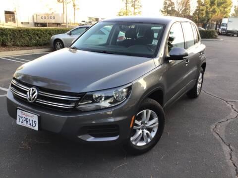 2013 Volkswagen Tiguan for sale at Tri City Auto Sales in Whittier CA
