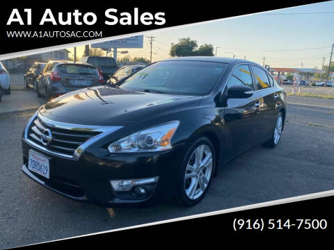 2013 Nissan Altima for sale at A1 Auto Sales in Sacramento CA